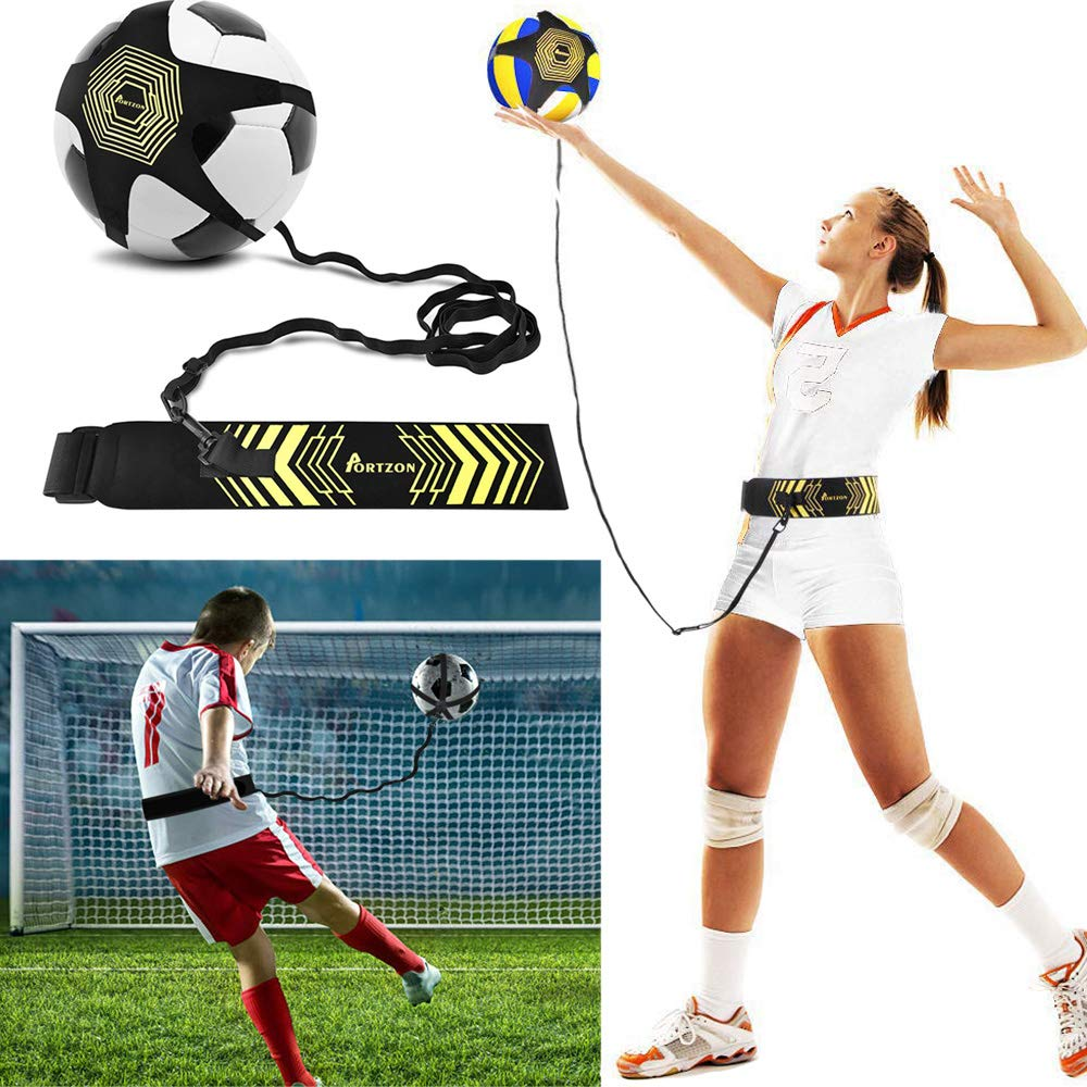 スポーツ バレーボール トレーニング器具 - サーブ、セッティング、スパイクなどのサーブ、サーブ、スパイク、セッティング技術の向上に - バレーボール 練習補助器具 B07GF15YS7