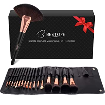 Bestope Make Up Pinsel Set Pinselset 18 Stück Pinselset