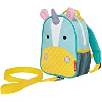Skip Hop Zoo Little Kid and Toddler Safety Harness Backpack, Eureka Unicorn