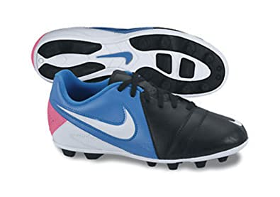 best sneakers 4a204 c86e9 NIKE FußB-SCH.CTR360 Enganche III FG J-R / Black / pink / bla we 192240-902  EU: SCH/WE/BLA/PINK Size:4, 5Y: Amazon.co.uk: Shoes & Bags