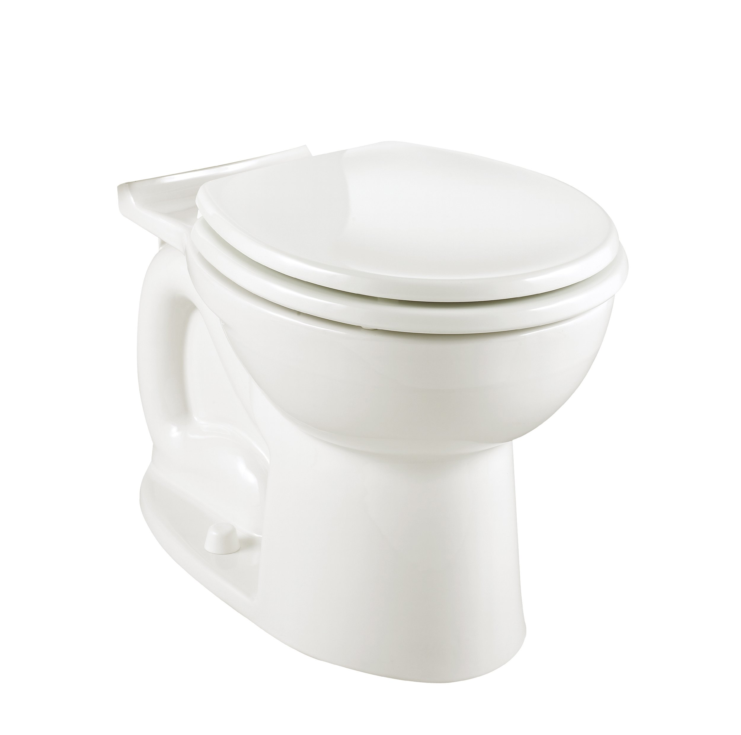 American Standard 3014.016.020 Cadet-3 Elongated Toilet Bowl with Bolt Caps, White (Bowl Only)
