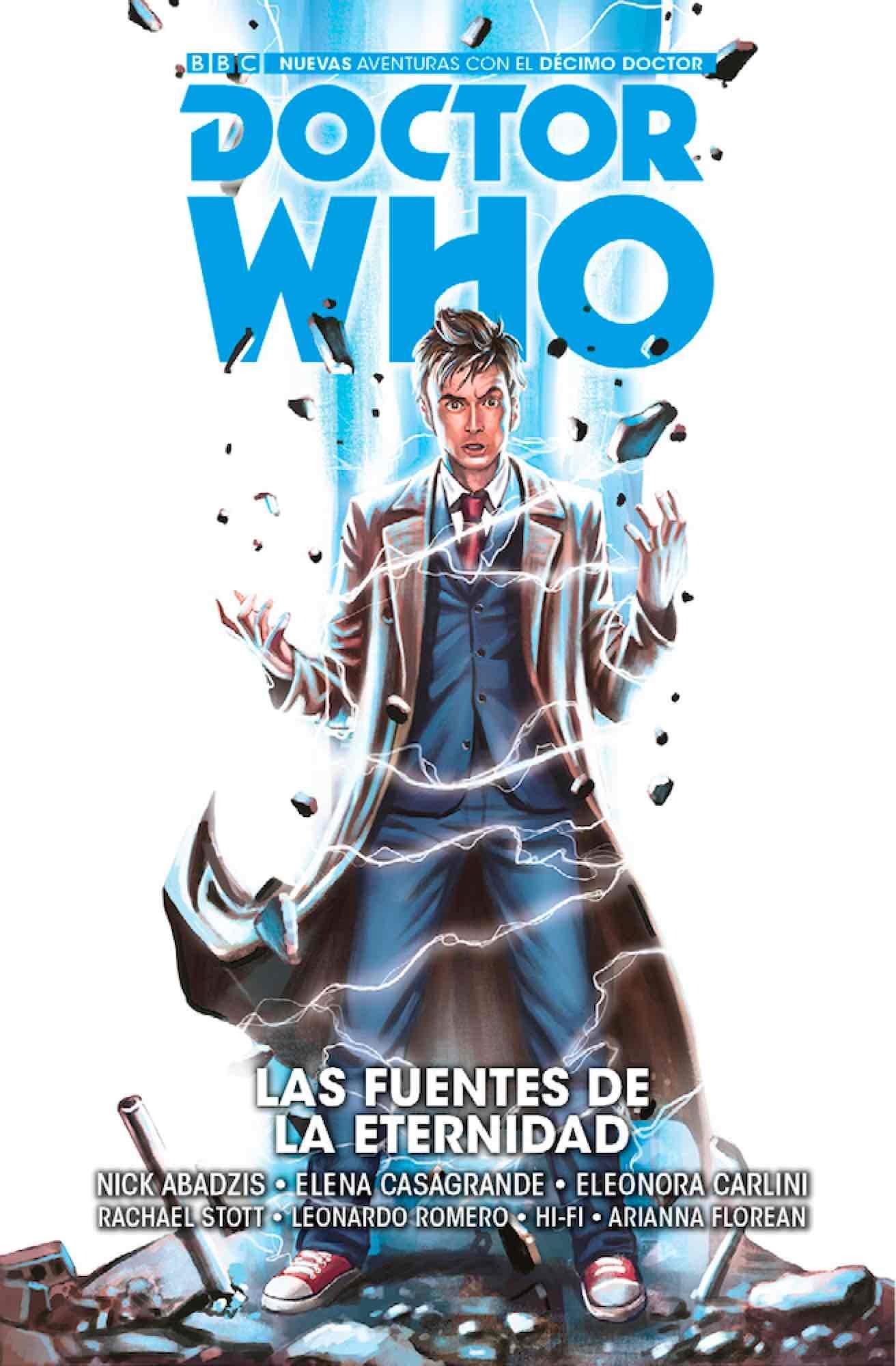 Doctor Who: las fuentes de la eternidad: Amazon.es: Casagrande ...