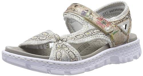 Rieker 68879 Chaussures Sandales Bout fermé Femme