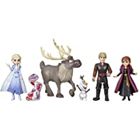 Disney Frozen 2 - Frozen Adventure Collection - 5 Small Dolls inc Anna, Elsa, Kristoff, Sven & Olaf - Toys for kids…