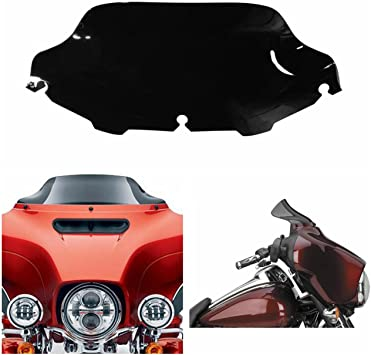 Chrome Billet Windshield Trim For Harley FLH//T Batwing 96-13 12 11 10