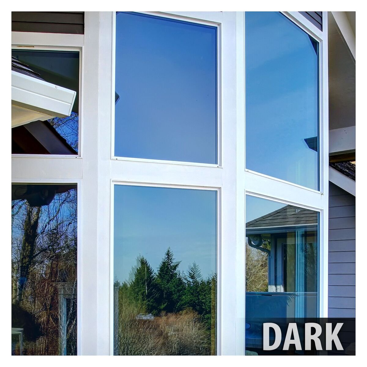 BDF PRBL Window Film Premium Color High Heat Control and Daytime Privacy Blue (36in X 14ft)