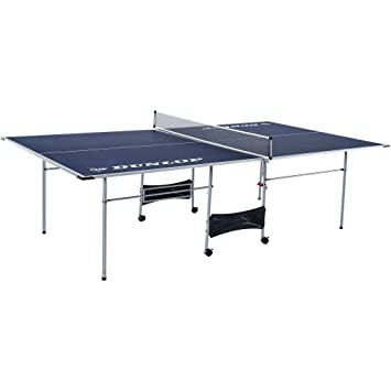 Perfect Dunlop Official Size Table 4 Piece Foldable Tennis Table