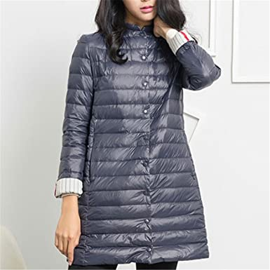 Dapengzhu 1PC Thin Down Jacket Winter Coat Women Winter Coat Women Long Coats Outerwear Parka Zang