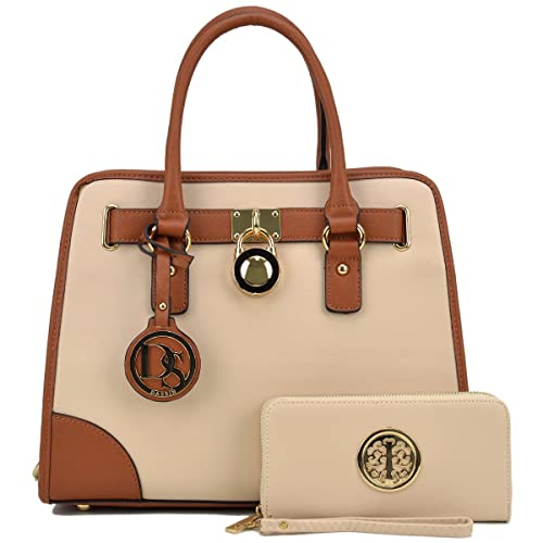 fe1723d201ea Women Ladies Designer Handbags and Purses Satchel Bags Shoulder Bags Top  Handle Bags w/Matching Wallet