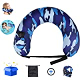 Cocopa Portable Swim Trainer Swimming Belt for Kids Adults,Inflatable Neck Pillow for Airplane Travel, Life Belts…