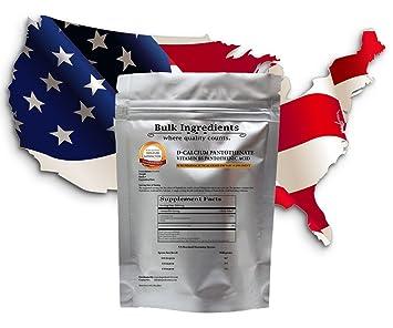 Amazon.com: Bulk ingredientes Suplementos de Vitamina B5 ...