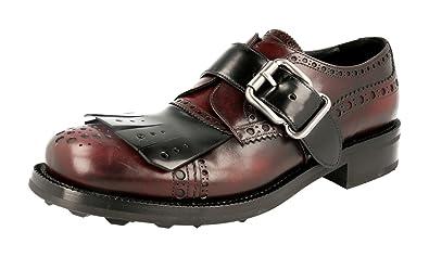 Men's 2OG057 Full Brogue Leather Business Shoes