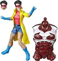 Marvel Legends Series 6-inch Collectible Action Figure Marvel's Jubilee Toy (X-Men Collection) – with Marvel's Caliban Build-a-Figure Part