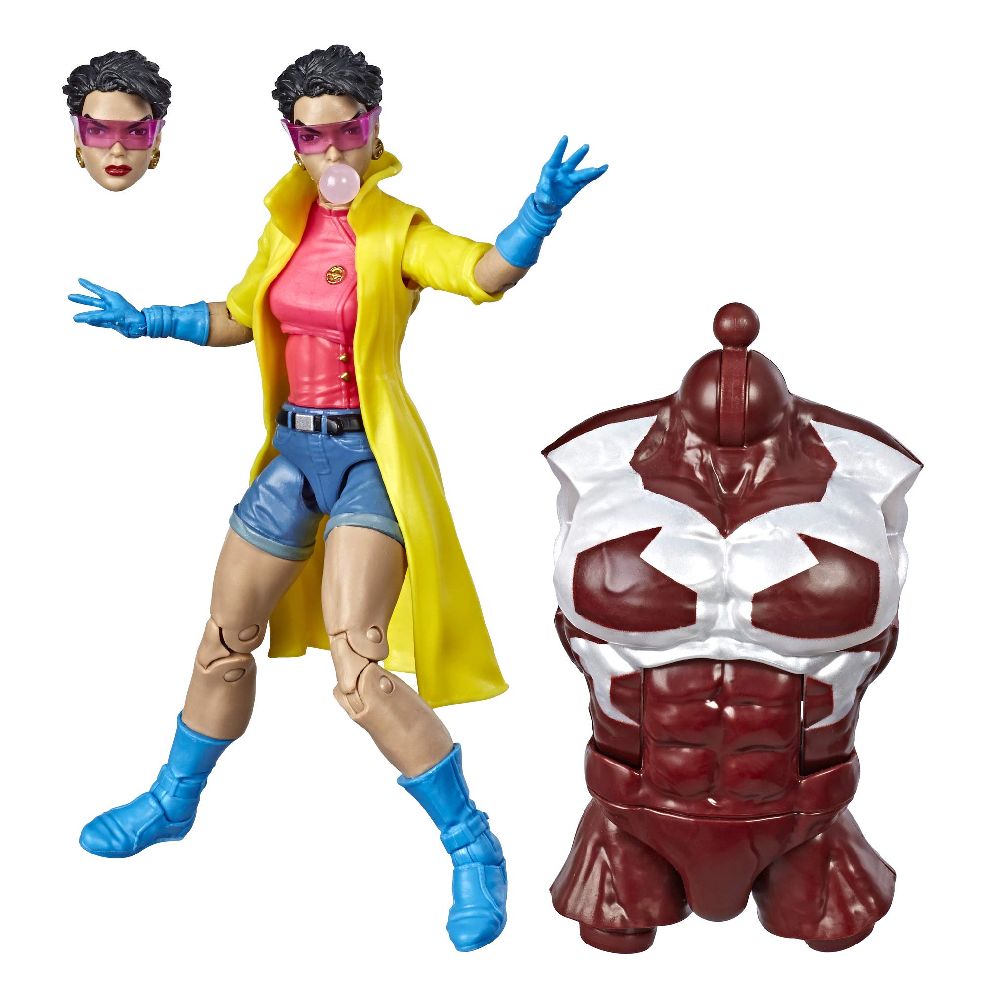 Marvel Hasbro Legends Series 6-inch Collectible Action Figure Jubilee Toy (X-Men Collection) Caliban Build-a-Figure Part by Marvel
