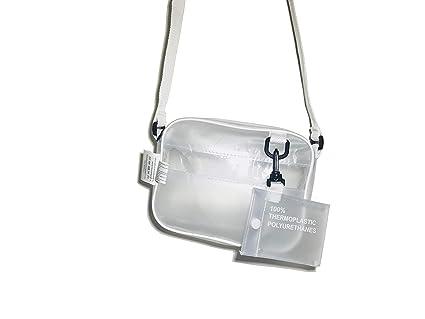 56f099d88f Image Unavailable. Image not available for. Color  Clear Crossbody Bag  Messenger Shoulder Bag Adjustable Strap NFL Stadium Approved Waterproof  Transparent ...