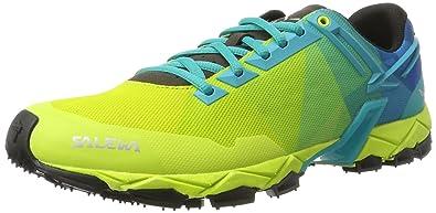 Salewa Ms Lite Train, Chaussures de Randonnée Homme, Vert (Cactus/Holland 5314), 40 EU