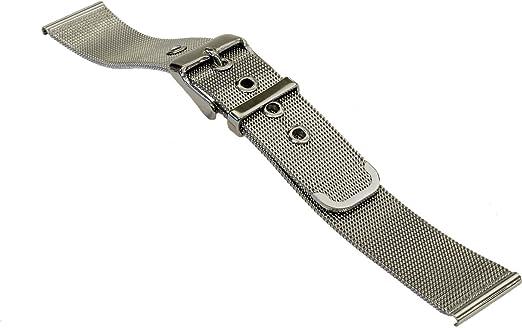 8e1957166e Amazon   [バンビ]BAMBI 時計バンド メタルバンド 美錠タイプ 18mm ...