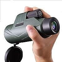 10x42 Monocular Telescope, HD High Power Life Waterproof Monocular Compact BAK4 Prism FMC Lens Monocular for Adult Bird…