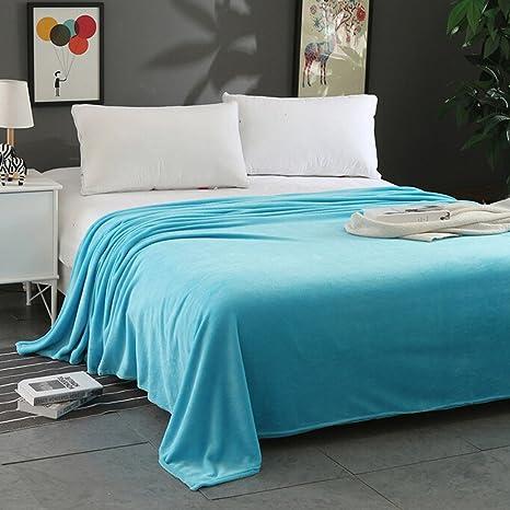 New Super Soft Warm Solid Warm Micro Plush Fleece Pet Blanket Throw Rug Sofa
