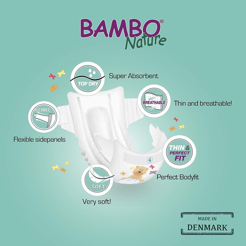 Pr/ägeset Pro Pack Junior//Gr/ö/ße 5 Bambo Nature Eco Windeln 12/bis 22/kg 6/St/ück