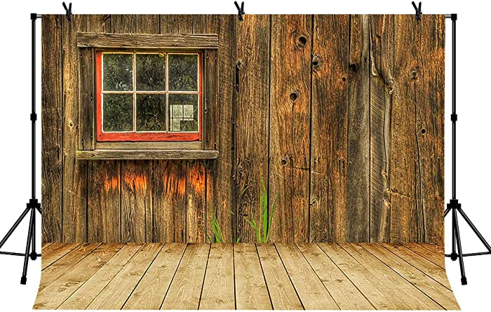 LYLYCTY 7x5 Barn Wood Backdrop Photo Booth for Wedding ReceptionThanksgiving Background Great Gift for The YouTube Rural Sense Photography Backgrounds LYZY0502