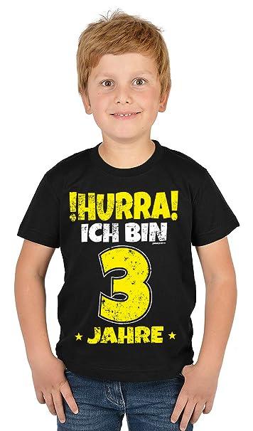 3geburtstag Sprüche T Shirt Kindergeburtstag Junge Kinder