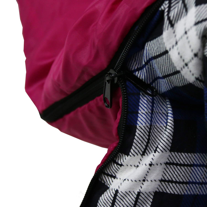 Unibest Schlafsack Deckenschlafsack mit Kopfteil NS70 Baumwolle Innen