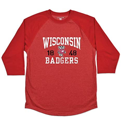 aba75140fdcdf Amazon.com : College Kids Wisconsin Badgers Youth NCAA Home Run ...
