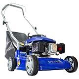 Hyundai 16 inch/40 cm, 99cc Petrol Push Rotary Lawn Mower Lightweight and Soft Grip Handle