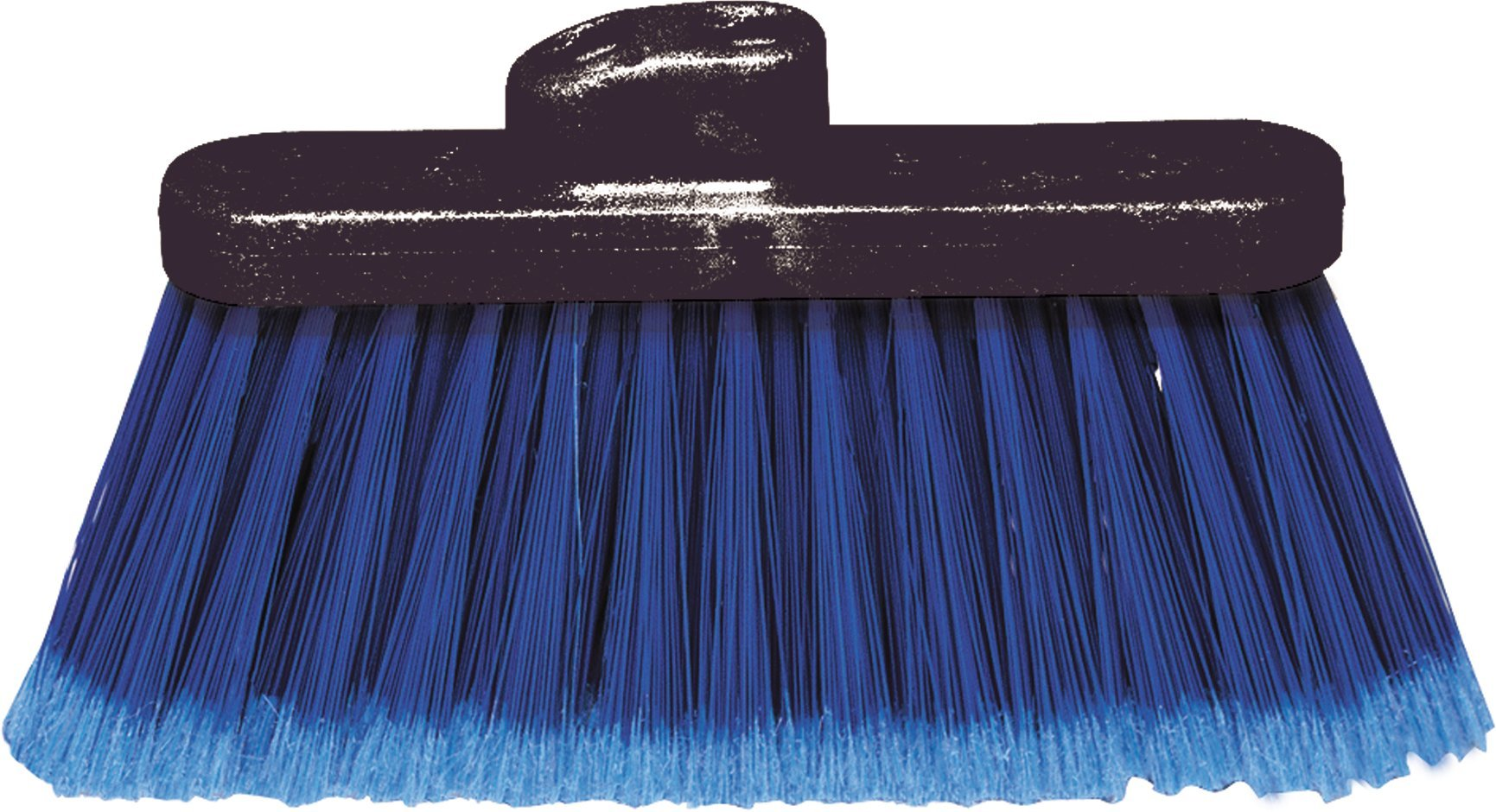 Carlisle 3685314 Duo-Sweep Light Industrial Broom Head, 4'' Long Blue Synthetic Bristles, 13'' W x 7'' H Overall (Case of 12) by Carlisle (Image #2)