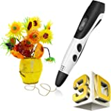 3D Pen, PACKGOUT 3D Drawing Pen DIY Kits 3D Printing Pen with LCD Display PLA Filament Refills for Adults, Boys, Girls, 2018 Newest Version
