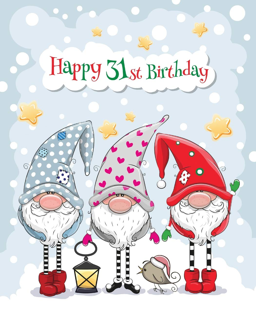 e01584f65ed5 Buy Happy 31st Birthday  Big Cute Winter Themed Notebook