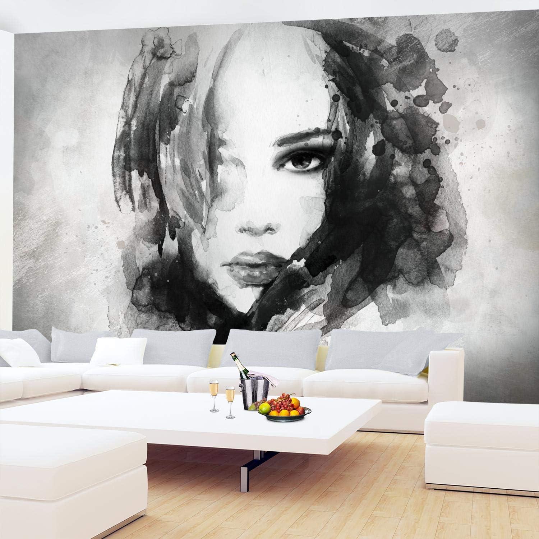 Fototapete Tapete Wandbild Vlies F410232/_VEN Photo Wallpaper Mural Frau auf Weiß