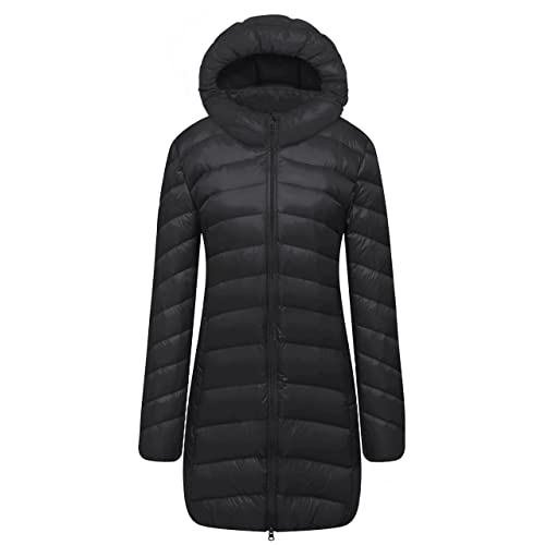 Cloudy Arch Women Ultra Light Down Packable Hooded Coat