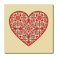 Placa Decorativa - Coração - 2131plmk