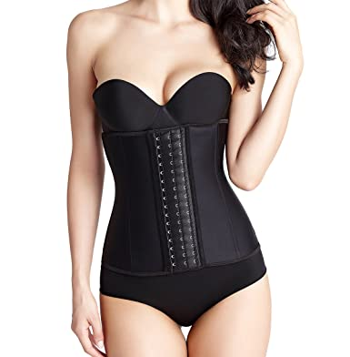 f2a43f1205b Latex Underbust Waist Trainer Corset For Women Weight Loss