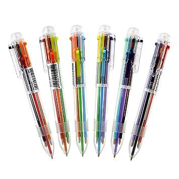 Kugelschreiber Stift 6 Farbe Tintenpatronen Füller Patronen Schulbedarf Neu