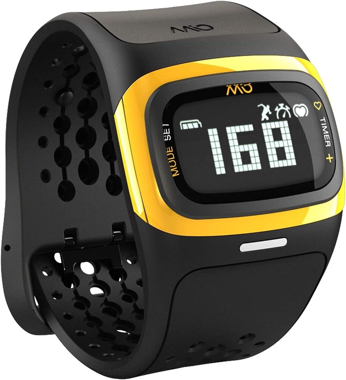 Mio Alpha 2 - Monitor de Frecuencia Cardiaca, color amarillo ...