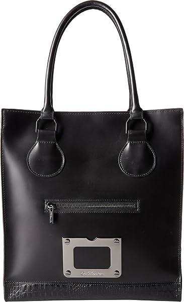 d436bc3b60b72 Amazon.com: Dr. Martens Unisex Lux Tote Bag Black Vibrance Croco ...