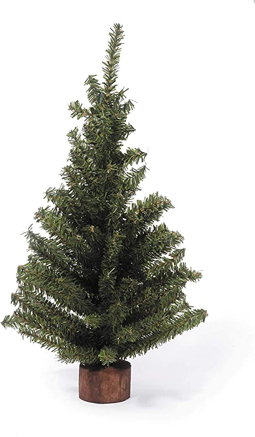 New Mini pine tree with burlap base small artificial Christmas tree decoration