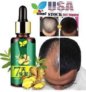 Amazon com : Hair Regrow 7 Day, Ginger Germinal Essential Oil Hair