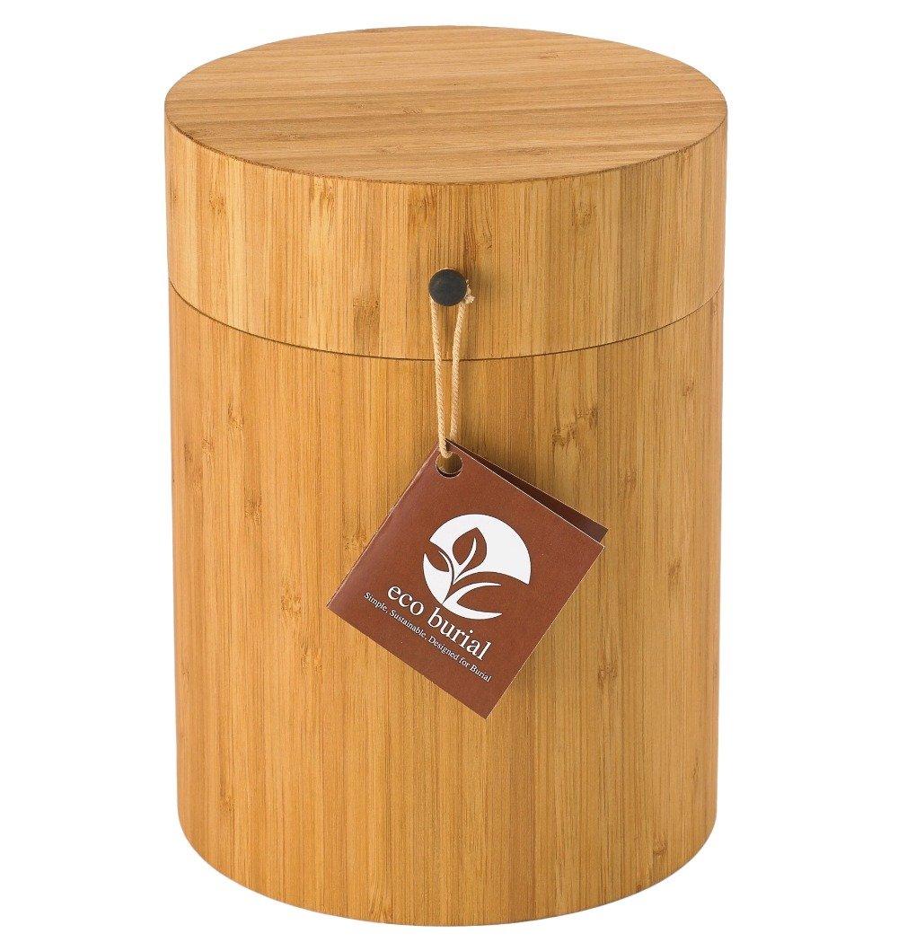Eco Burial: Biodegradable Urn Designed to Bury