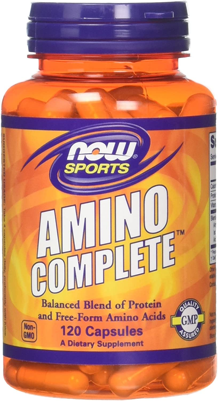 Now Foods Amino Complete, 120 caps