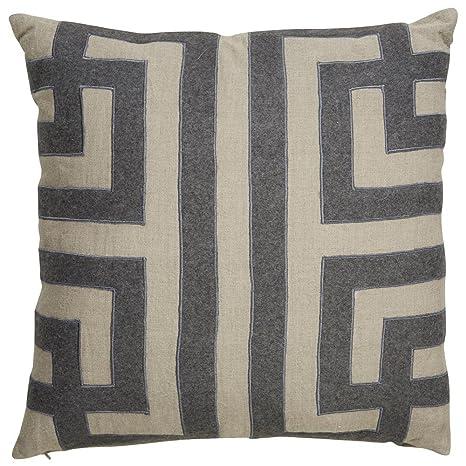 Amazon.com: Jaipur Geometric Pattern Taupe/gris Lino ...