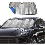 Windshield Sunshade Car Foldable UV Ray Reflector Auto Front Window Sun Shade Visor Shield Shade,Keeps Vehicle Cool…