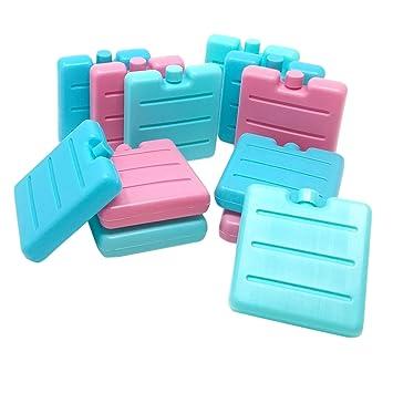 ToCi - pequeños acumuladores de frío en azul, rosa y verde | Mini ...
