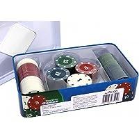 Ficha de Poker Caixa com 100 Fichas PK-100 Western
