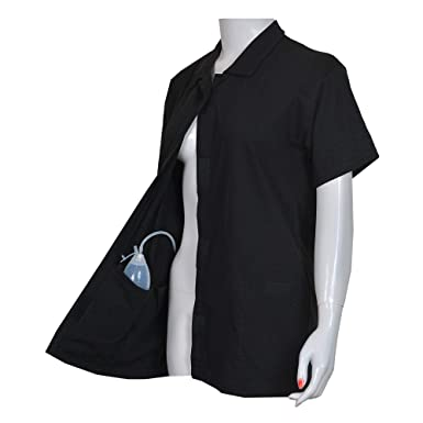a008c1f0 Post Op Easy Open Breast Surgery & Mastectomy Recovery Top with Pockets &  Fasteners for Drains