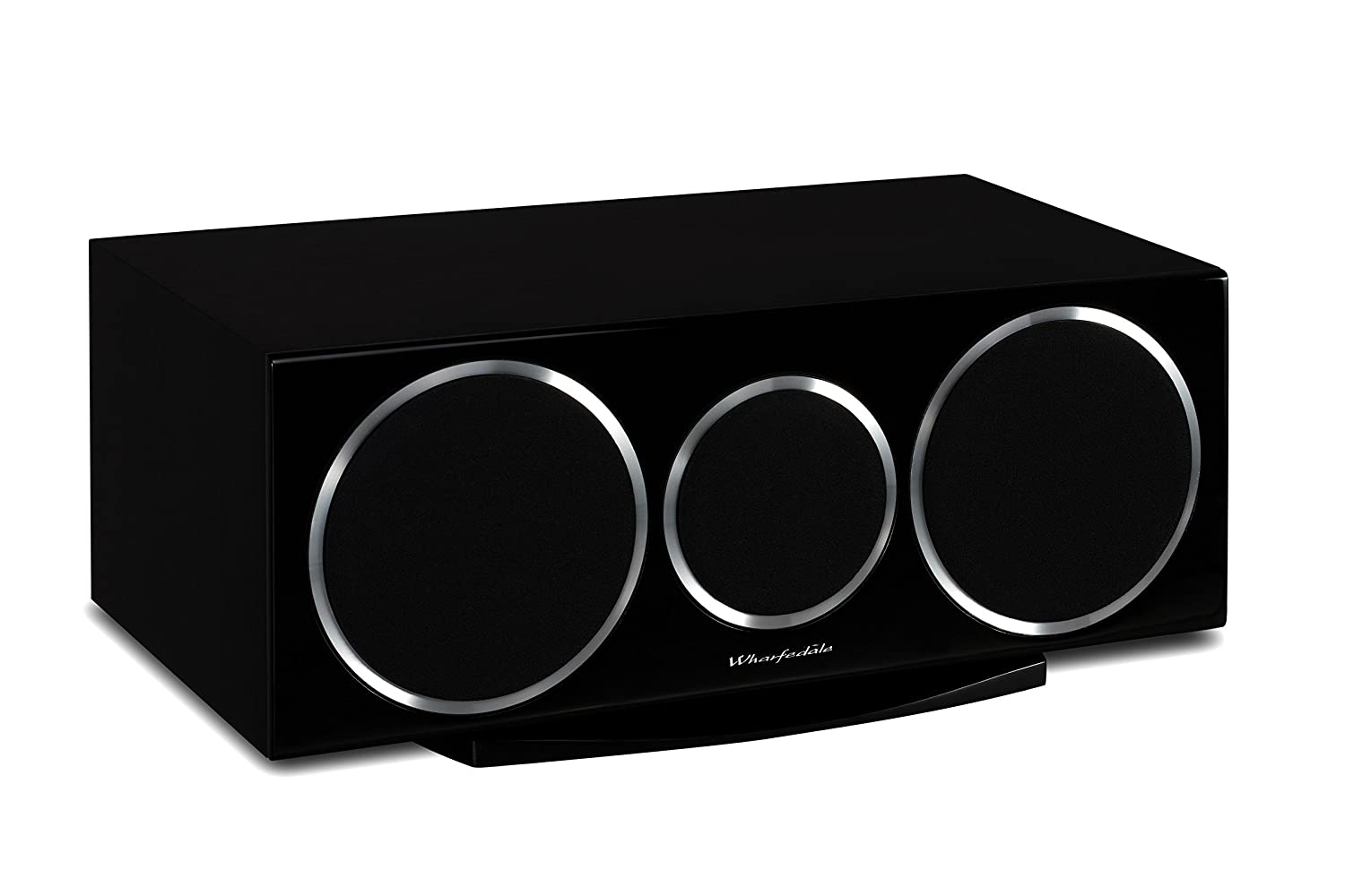 Wharfedale Diamond 220C - Altavoces (Mesa/estante, Speaker set unit, Centro, De 2 vías, 60 - 20000 Hz, Negro)