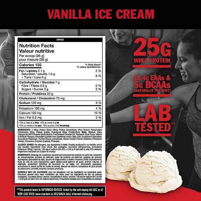 Mutant Mutant Whey Vanilla Ice Cream - 4536 gr
